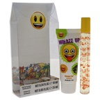 Emoji Whazz Up 0.34oz Rollerball Perfume, 0.85oz Shower Gel