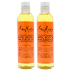 Shea Moisture Coconut & Hibiscus Bath-Body & Massage Oil Firming & Toning - Pack of 2