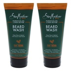 Shea Moisture Maracuja Oil & Shea Butter Beard Wash Deep Clean & Refresh - Pack of 2 Cleanser