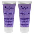Shea Moisture Lavender & Wild Orchid Body Butter - Pack of 2