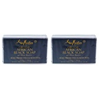 Shea Moisture Organic African Black Soap Acne Prone Face & Body - Pack of 2 Bar Soap