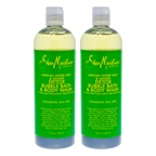 Shea Moisture African Water Mint & Ginger Detox Bubble Bath & Body Wash - Pack of 2
