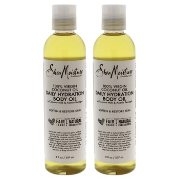 Shea Moisture 100% Virgin Coconut Oil Daily Hydration Body Oil - Pack of 2