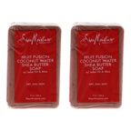 Shea Moisture Fruit Fusion Coconut Water Energizing Shea Butter Soap - Pack of 2 Bar Soap