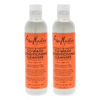 Shea Moisture Coconut & Hibiscus Co-Wash Conditioning Cleanser - Pack of 2