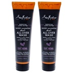 Shea Moisture Maracuja & Shea Butter Smokey Manhattan 4-In-1 All Over Wash - Pack of 2 Body Wash
