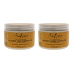 Shea Moisture Raw Shea Butter Heatless Curl Stretch Gel - Pack of 2