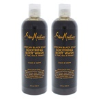 Shea Moisture African Black Soap Soothing Body Wash - Pack of 2