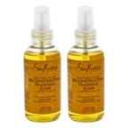 Shea Moisture Raw Shea Butter Reconstructive Finishing Elixir - Pack of 2 Spray