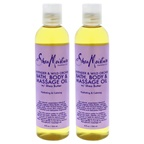 Shea Moisture Lavender & Wild Orchid Bath-Body & Massage Oil - Pack of 2