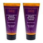 Shea Moisture Coconut & Hibiscus Shave Cream For Women - Pack of 2