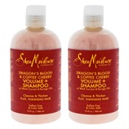 Shea Moisture Dragons Blood & Coffee Cherry Volume Shampoo - Pack of 2
