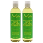 Shea Moisture African Water Mint & Ginger Detox Bath-Body & Massage Oil - Pack of 2