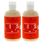 Shea Moisture Mango & Carrot Kids Extra-Nourishing Shampoo - Pack of 2