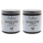 Shea Moisture 100% Virgin Coconut Oil Coffee Scrub - Pack of 2