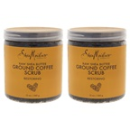 Shea Moisture Raw Shea Butter Ground Coffee Scrub - Pack of 2