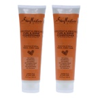 Shea Moisture Coconut and Hibiscus Curl and Shine Conditioner - Pack of 2