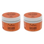 Shea Moisture Coconut and Hibiscus Curl and Shine Hair Masque - Pack of 2