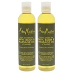 Shea Moisture Olive & Green Tea Bath-Body & Massage Oil - Pack of 2