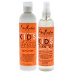 Shea Moisture Coconut and Hibiscus Kids 2-In-1 Curl and Shine Shampoo and Conditioner and Detangler