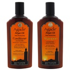Agadir Argan Oil Daily Moisturizing Shampoo and Conditioner Kit 12oz Shampoo, 12oz Conditioner