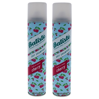 Batiste Dry Shampoo - Fruity and Cheeky Cherry - Pack of 2