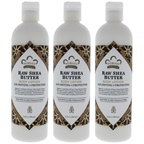 Nubian Heritage Raw Shea Butter Body Lotion - Pack of 3