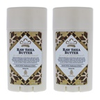 Nubian Heritage Raw Shea Butter 24 Hour Deodorant - Pack of 3 Deodorant Stick
