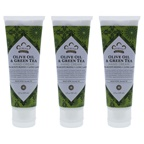 Nubian Heritage Olive Oil and Green Tea Hand Cream - Pack of 3