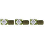Nubian Heritage Olive Oil and Green Tea Bar Soap - Pack of 3