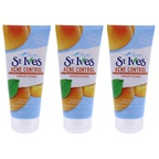 St. Ives Naturally Clear Blemish and Blackhead Control Apricot Scrub - Pack of 3