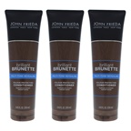 John Frieda Brilliant Brunette Multi-Tone Revealing Moisturizing Conditioner - Pack of 3