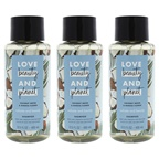 Love Beauty and Planet Coconut Water and Mimosa Flower Shampoo - Pack of 3