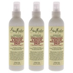 Shea Moisture Jamaican Black Castor Oil Strengthen and Restore Anti-Breakage Spray - Pack of 3