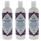 Nubian Heritage Goats Milk and Chai Body Lotion - Pack of 3