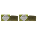 Nubian Heritage Indian Hemp and Haitian Vetiver Bar Soap - Pack of 2