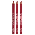 Bourjois Contour Edition Lip Liner - 07 Cherry Boom Boom - Pack of 3
