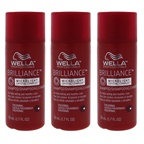 Wella Brilliance Shampoo For Fine to Normal Colored Hair - Pack of 3