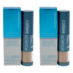 Colorescience Sunforgettable Total Protection Brush-On Shield SPF 50 - Medium - Pack of 2 Sunscreen