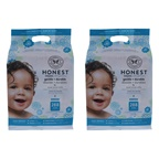 Honest Baby Wipes - Classic - Pack of 2