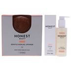 Honest Honest Gentle Kit 5oz Gel Cleanser, 1Pc Konjac Sponge