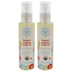 Honest Organic Body Oil - Pack of 2