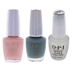 O.P.I Infinite Shine Kit 0.5oz Infinite Shine 2 Lacquer - ISLSH6 Ring Bare-er, 0.5oz Infinite Shine 1 Primer IS T11 - ProStay Base Coat, 0.5oz Infinite Shine 2 Lacquer - ISLSH1 Baby Take a Vow