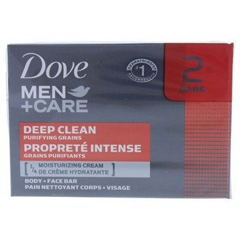 Dove Deep Clean Body and Face Bar Soap