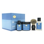 The Art of Shaving The 4 Elements of The Perfect Shave Kit - Lavender 2oz Pre-Shave Oil, 5oz Shaving Cream , 3.3oz After-Shave Balm , Pure Badger Black Shaving Brush