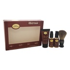 The Art Of Shaving The 4 Elements of The Perfect Shave Starter Kit - Sandalwood 0.5oz Pre-Shave Oil, 1.0oz Shaving Cream, 0.5oz After-Shave Balm, Shaving Brush