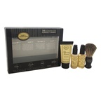 The Art of Shaving The 4 Elements of The Perfect Shave Starter Kit - Unscented 0.5oz Pre-Shave Oil, 1.0oz Shaving Cream, 0.5oz After-Shave Balm, Shaving Brush
