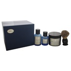 The Art of Shaving The 4 Elements of The Perfect Shave Full-Size Kit - Ocean Kelp 2oz Pre-Shave Gel, 5oz Shaving Cream, 3.3oz After-Shave Lotion, Shaving Brush