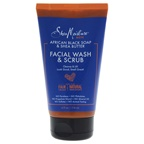 Shea Moisture African Black Soap & Shea Butter Facial Wash & Scrub Cleansing