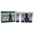 Lab Series Expert Skincare 1oz Multi Action Face Wash, 1oz Cooling Shave Cream, 1oz Moisture Defense Lotion, 0.5oz Future Rescue Repair Serum